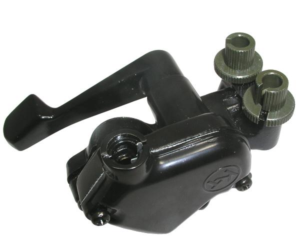 Bremshebelhalter mit Gashebel