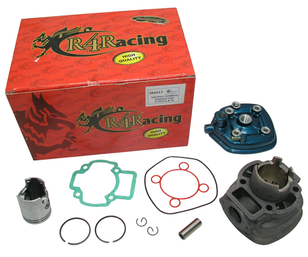 Zylinder Kit R4R Alu Piaggio H2o D40 m. Kopf