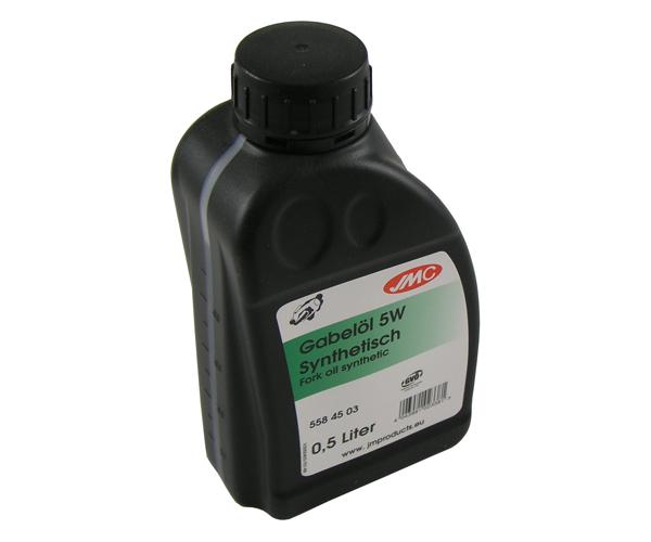 Gabelöl 5W 0.5 L. JMC vollsynthetisch