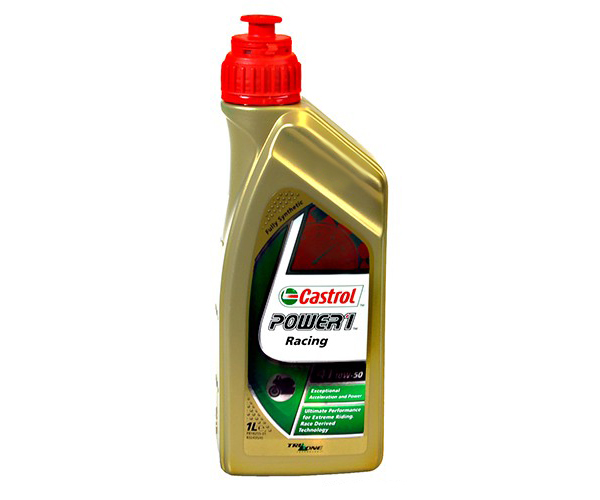 Motoröl 10W50 Power1 Racing 4T Castrol 1 Liter