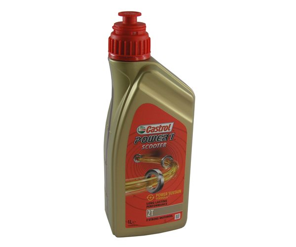 Motoröl Power1 Scooter 2T Castrol 1 Liter