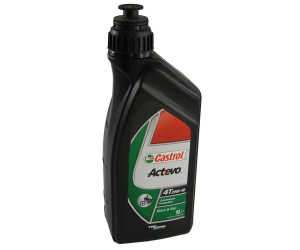 Motoröl 20W40 4-T Act Evo Castrol 1 Liter