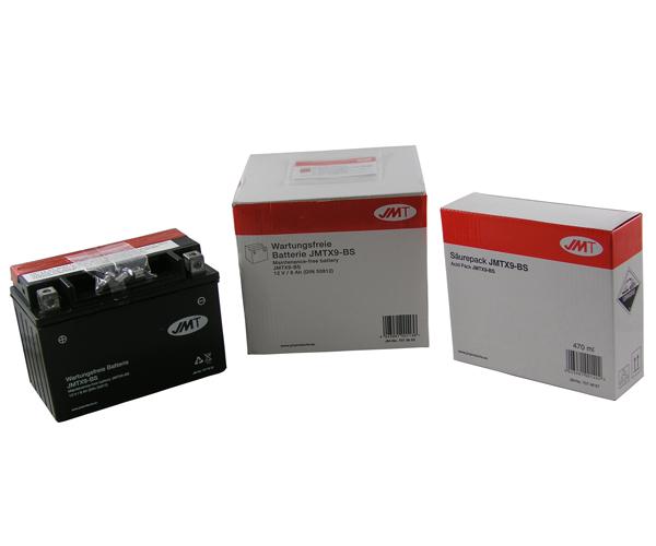 Batterie JMT YTX9-BS 12V8AH (TM-K4)