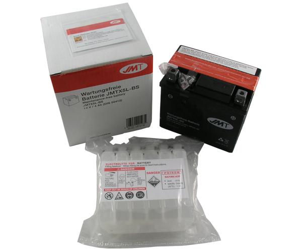 Batterie JMT YTX5L-BS 12V4Ah (TM-K4)