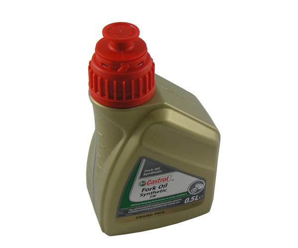 Gabelöl SAE 5W Castrol 0.5 Liter Synth.