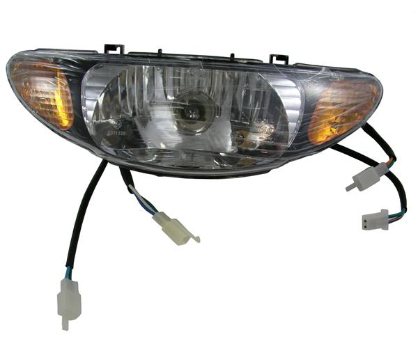 Scheinwerfer kompl. mit integrierten Blinkern REX