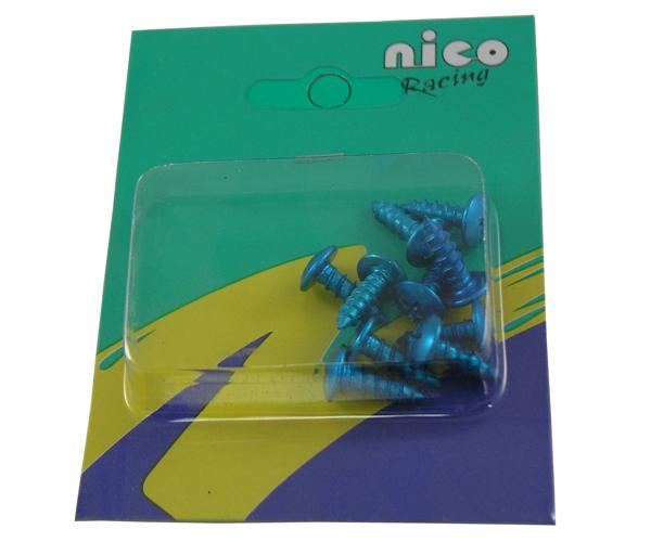 Verkleidungsschrauben 10er Pack 5x15 blau