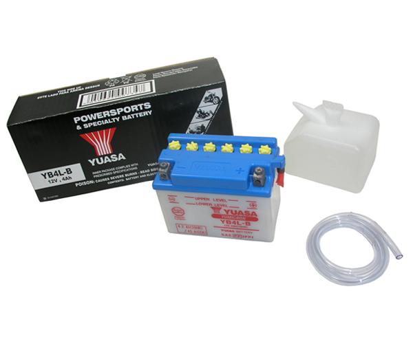 Batterie Yuasa YB4L-B 12V4AH mit Säurepack