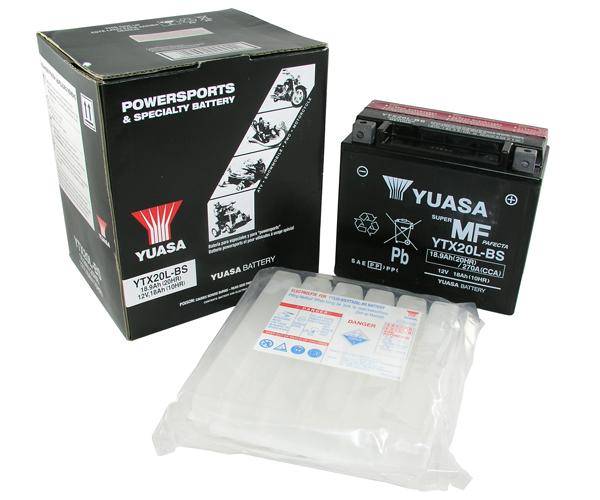 Batterie Yuasa YTX20L-BS 12V18Ah (TK4)