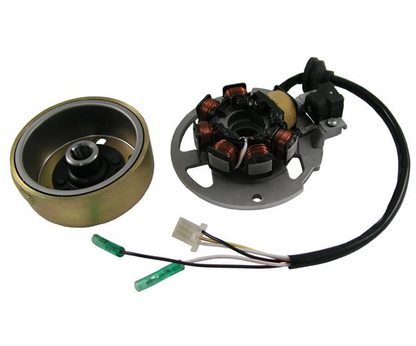 Lichtmaschine kompl. 491/K2/Pepe