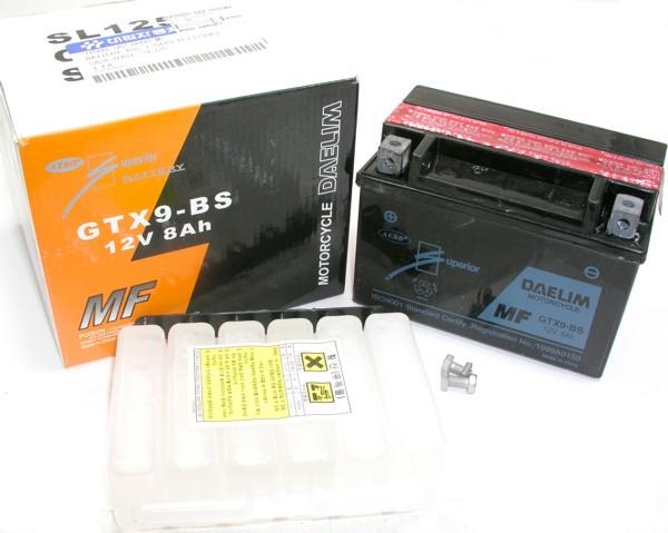 Batterie 12V GTX9-BS(12V8A)