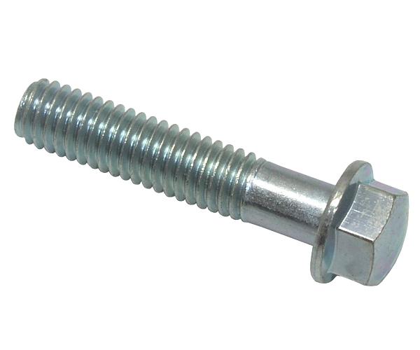 Schraube M6x28 SH Sechskant m. Bund verz.