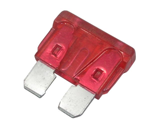 Sicherung 10A flach
