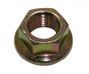 HEX FLANGE NUT WITH SERRATION 10mm