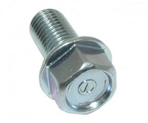 Schraube M10x1.25x20 Sechskant m. Bund verz.