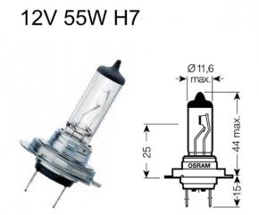 Birne H7 12V55W