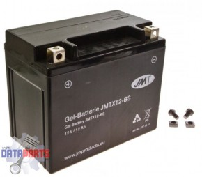 Batterie YTX12-BS Gel JMT
