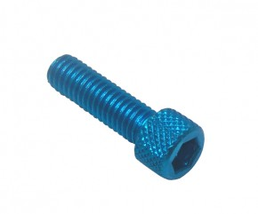 ALLEN HEAD SCREW M6X20 BLUE