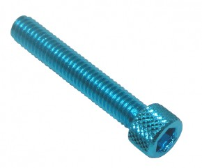 ALLEN HEAD SCREW M6X35 BLUE