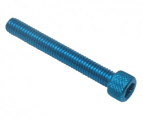 ALLEN HEAD SCREW M6X45 BLUE