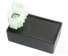 CDI  Stecker 2+4polig offen f. Anschluß mit 12V auf Pin 1
