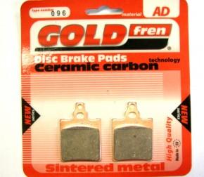 """BRAKE PADS GOLDFREN SEMI-METAL """"AD"""""""