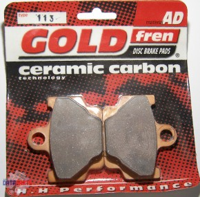 "Bremsbelag Satz vorne Goldfren Semi-metal ""AD"""
