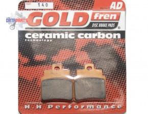 "Bremsbelag Satz Goldfren Semi-metal ""AD"""