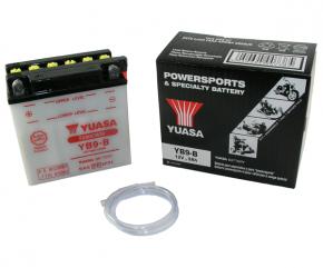 Batterie Yuasa YB9-B 12V9AH ungefüllt ohne Säurepack