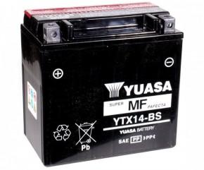 Batterie Yuasa YTX14-BS 12V12AH (TM-K4)