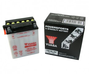 Batterie Yuasa YB14L-A2 12V14AH ungefüllt ohne Säurepack
