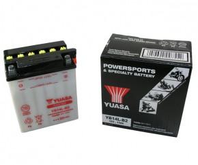 Batterie Yuasa YB14L-B2 12V14AH ungefüllt ohne Säurepack