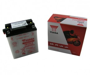 Batterie Yuasa YB12A-A ungefüllt ohne Säurepack