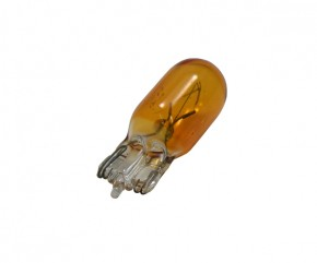 Birne 12V 5W Glassockel gelb