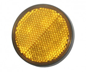 SIDE  REFLECTOR YELLOW