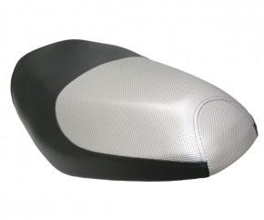 Sitzbank schwarz/silber
