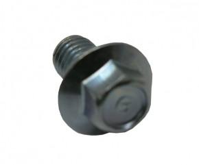 Schraube M8x12 SH sechskant m. Bund