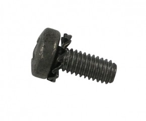Schraube M4x10 PH m. Zahnscheibe