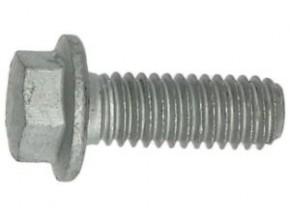 Schraube M6x16 Sechsk. m. Bund verz.