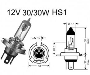 Birne HS1 12V 30/30W