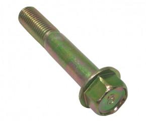 Schraube M10x55 Sechskant m. Bund gelb