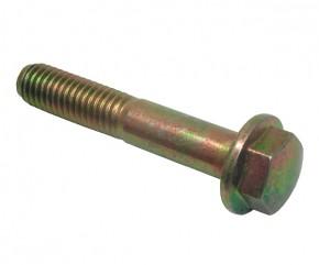 Schraube M8x45 Sechskant m. Bund schw.