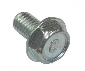 Schraube M6x10 sechskant m. Bund verz.