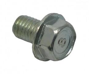 Schraube M8x12 Sechsk. m. Bund verz.