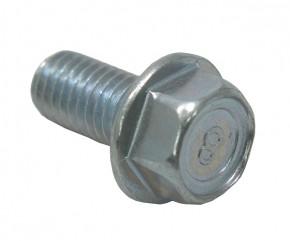 Schraube M8x16 Sechskant m. Bund verz.